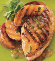 Chicken w Peaches