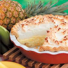 PIneapple Cream Pie w Meringue