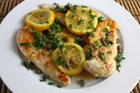 Chicken, Lemon and Capers2