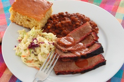 oven barbequed brisket